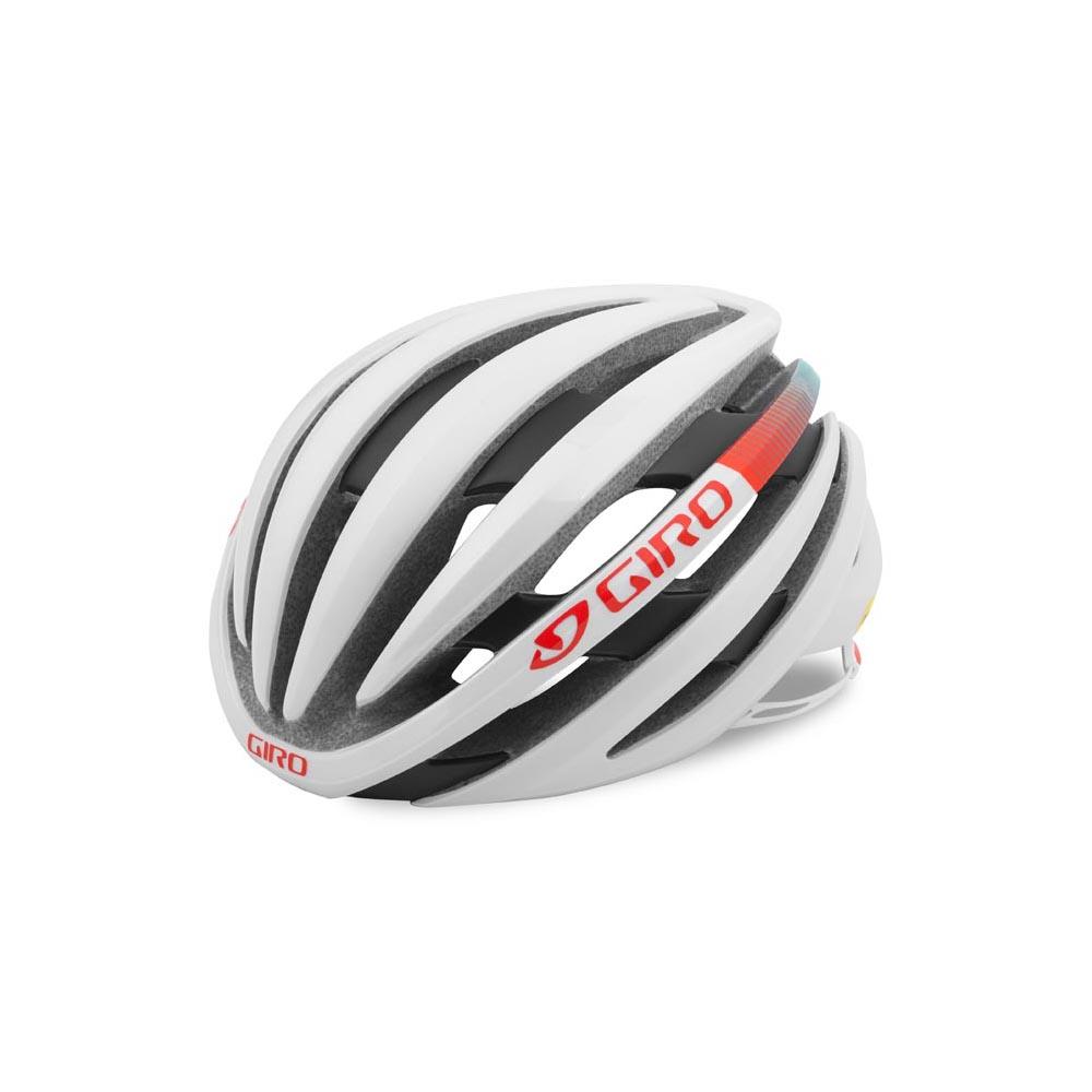 Giro Ember MIPS – Hvid / Turkis / Vermillion | cykelhjelm