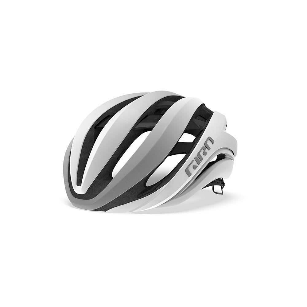 Giro Aether MIPS – Mat hvid / Sølv | Helmets