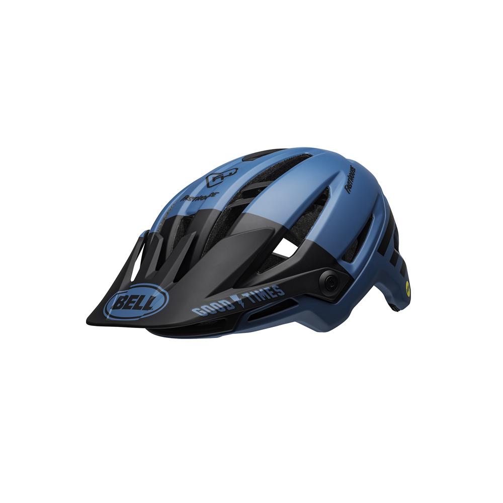 Bell Sixer Fasthouse MIPS – Mat blå / Sort fasthouse | cykelhjelm