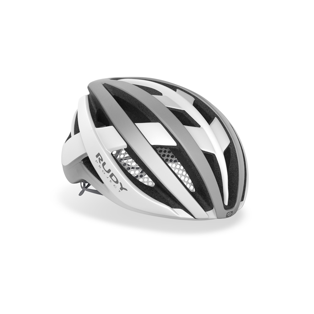 Rudy Project Venger – Mat hvid / Stealth | cykelhjelm